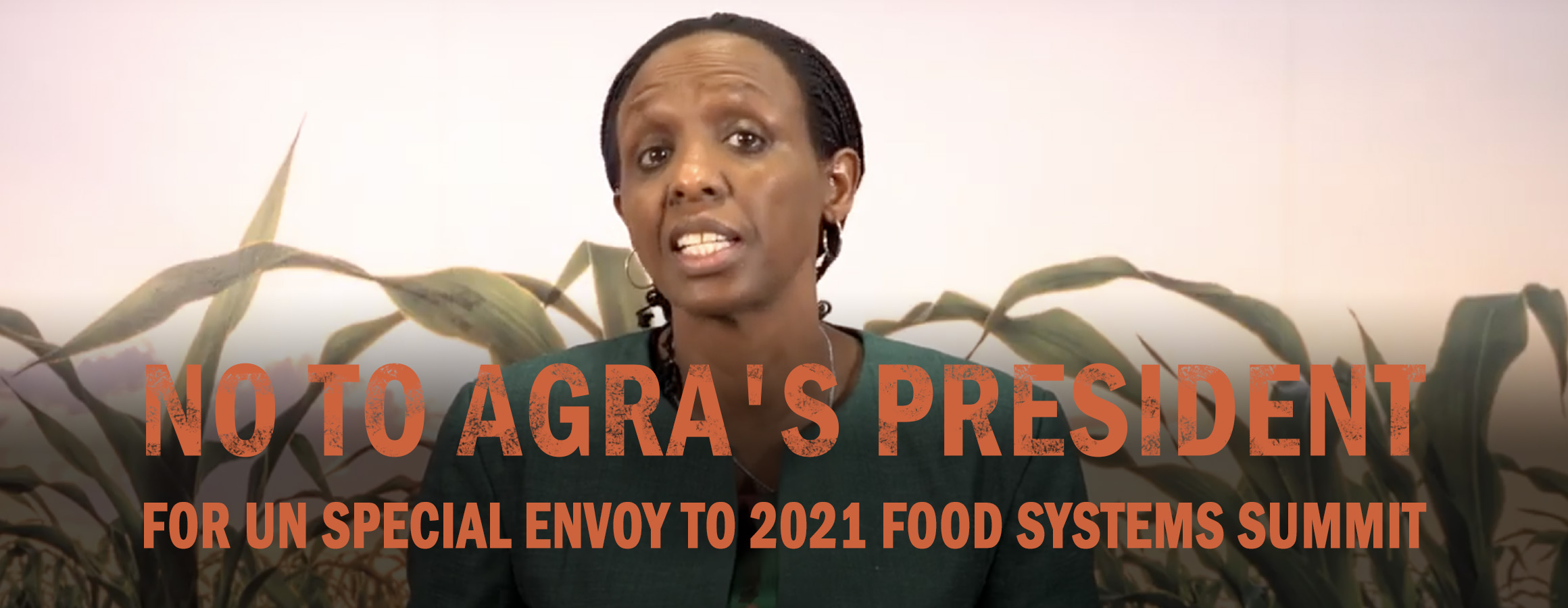Screenshot from AGRA Harvest's February 6, 2020 video