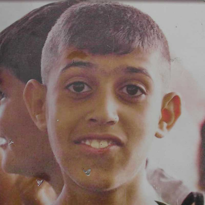 13-year-old Abdel Rahman Shadi was fatally shot in 2015 while standing beneath the United Nations flag.