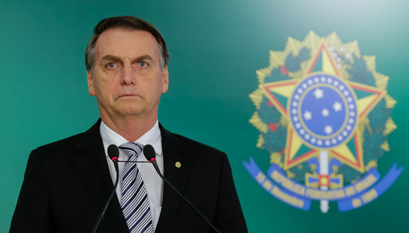 (Brasília - DF, 07/11/2018) President-elect Jair Bolsonaro during a press statement.  Photo: Rogério Melo / PR (CC BY-NC-SA 2.0)