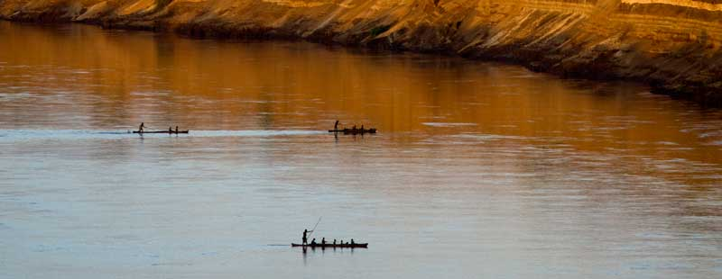 Omo River in 2012, before the completion of the Gibe III Dam. Credit: The Oakland Institute