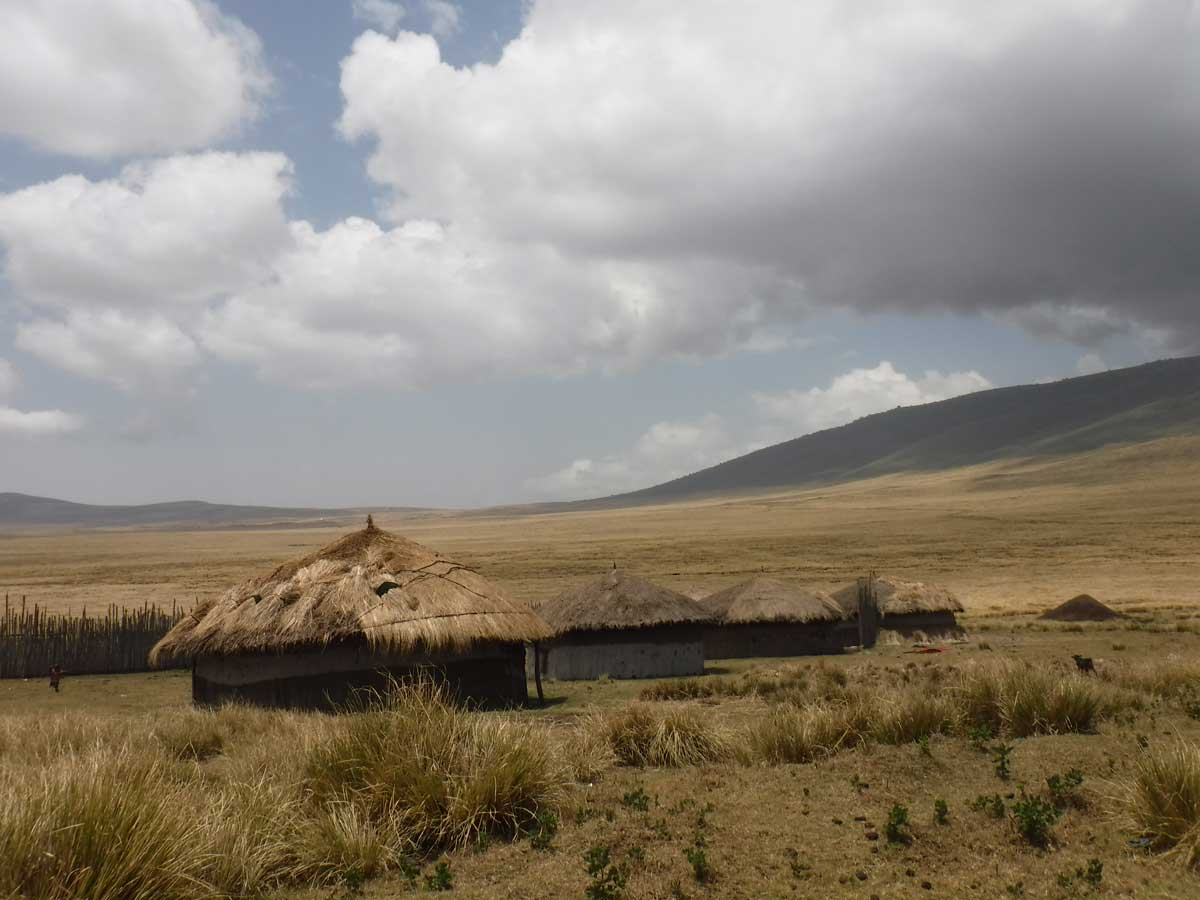 A boma in the Ngorongoro District. Credit: The Oakland Institute