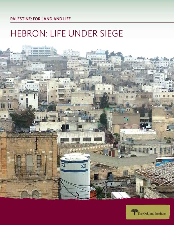 Hebron: Life Under Siege cover