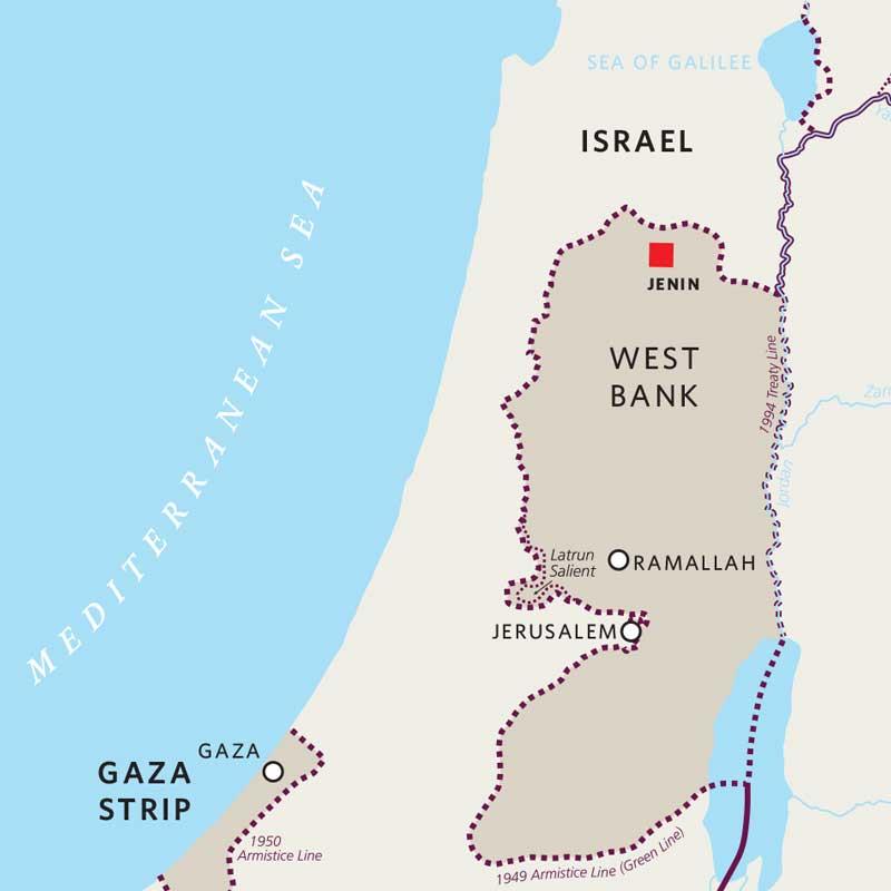 Jenin map
