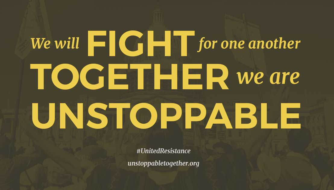 Unstoppable Together Graphic
