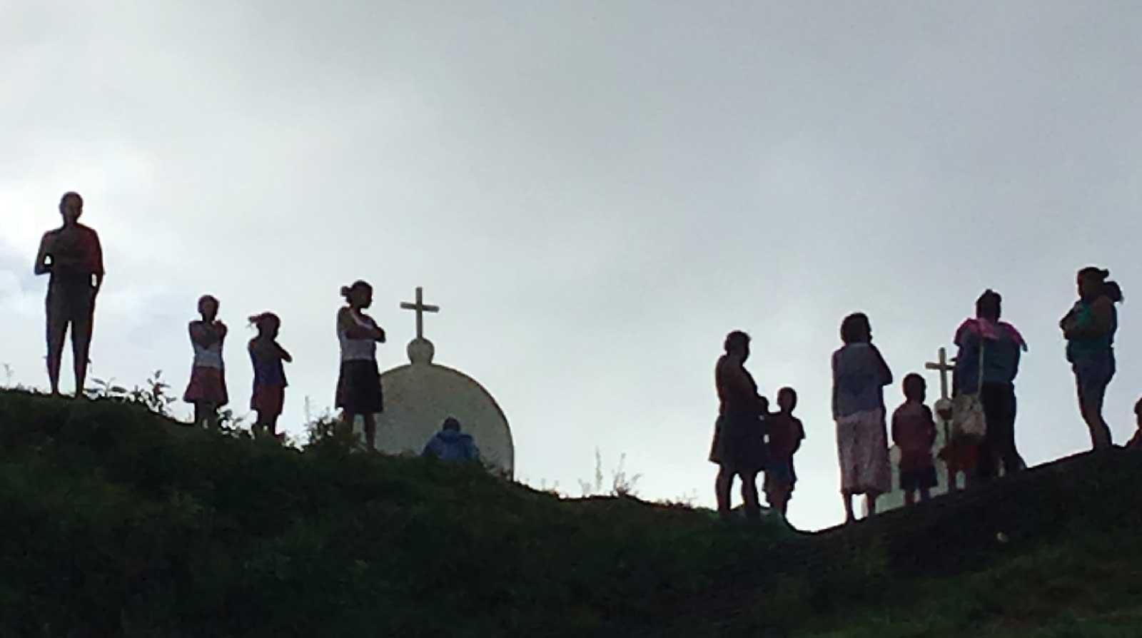 Aldeanos Miskitu a orillas del Río Coco. Noviembre 2018
