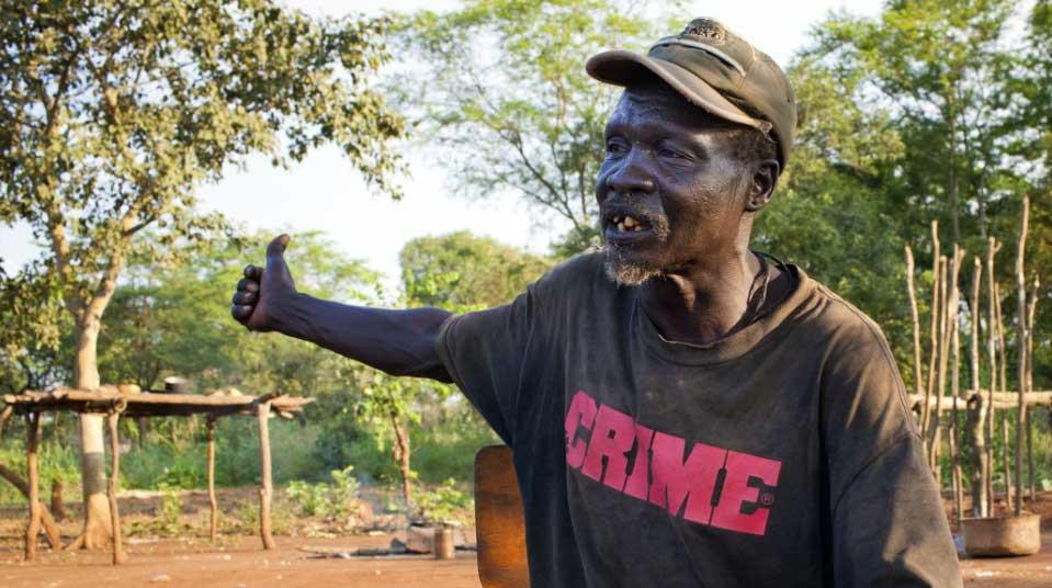 Omman Oyiré, chief du village, Ilya, Gambela. (Photo : Jiro Ose)