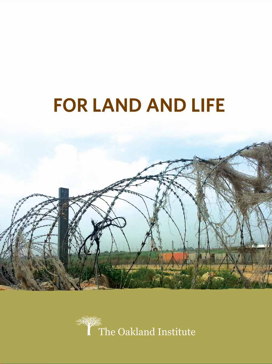 Palestine: For Land and Life Cover