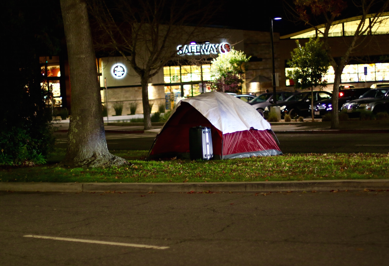 """""""We are homeless but not helpless,"""" said Mike Lee, member of the First They Came for the Homeless Encampment. """"We are the public face of a protest to demand change, so that people can talk to us and find out who we are."""""""