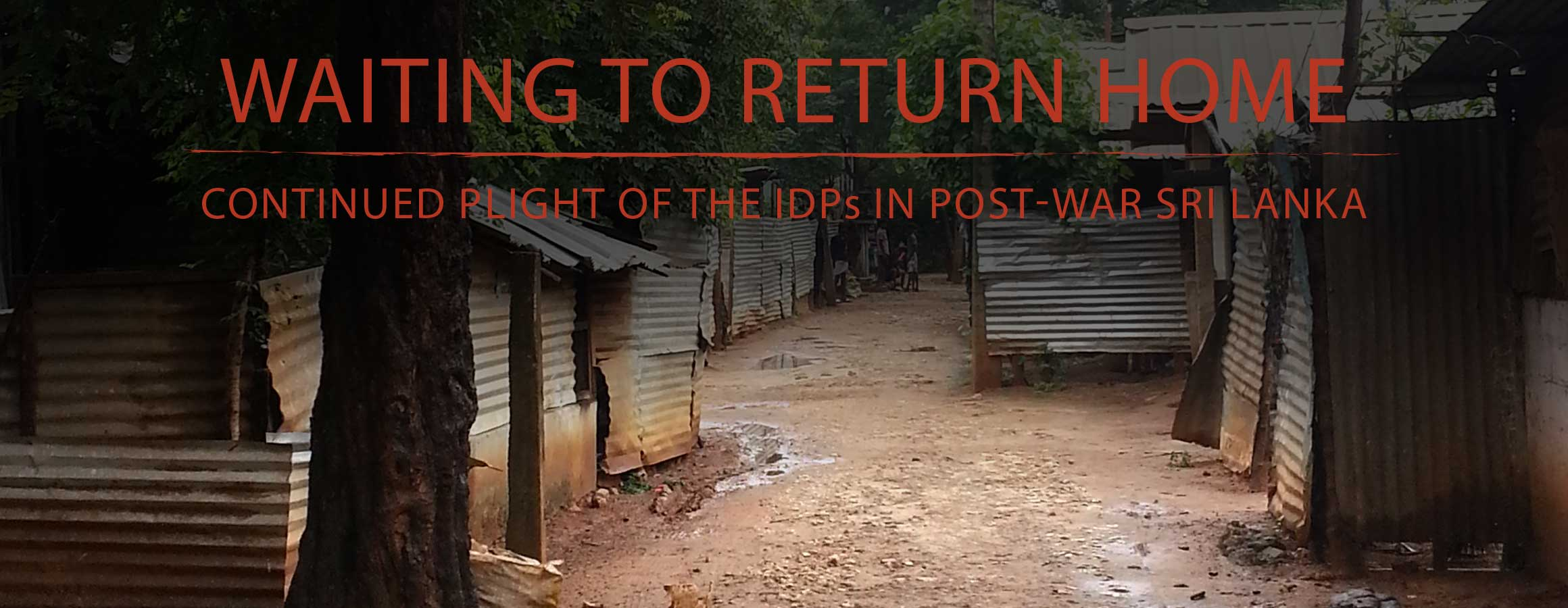 Waiting to Return Home Cover Slide