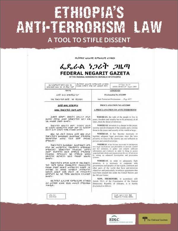 Ethiopia's Anti-Terrorism Law: A Tool to Stifle Dissent | The