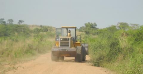 Tractor in Ethiopia
