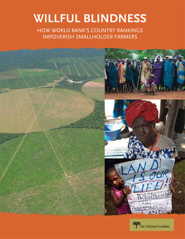 Willful Blindness: How the World Bank's Doing Business Rankings Impoverish Smallholder Farmers
