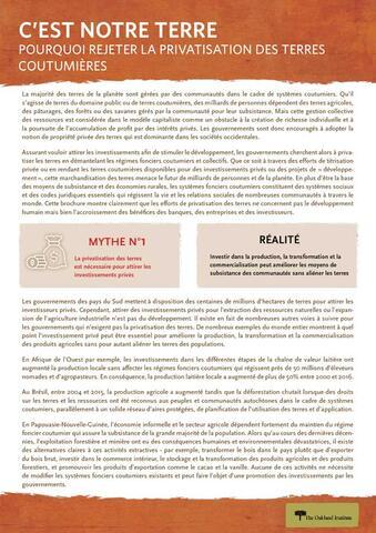Couverture du rapport