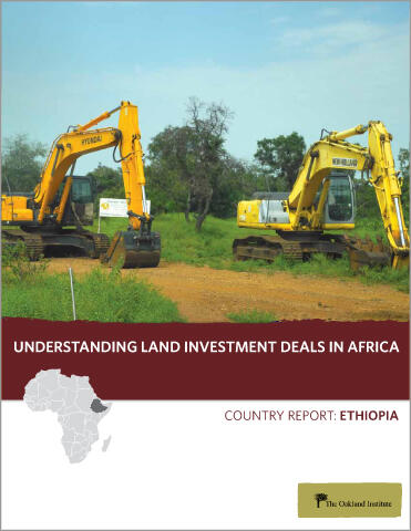 Understanding Land Investment Deals in Africa: Ethiopia | The