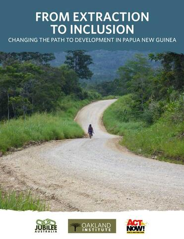 From Extraction to Inclusion report cover
