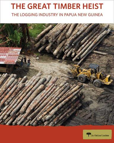The Great Timber Heist Cover