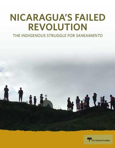 Nicaragua's Failed Revolution report cover
