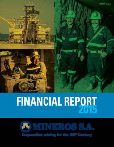 Mineros S.A. Financial Information, 2015