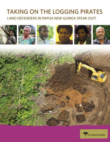 Illegal Logging Papua New Guinea:  Taking On the Logging Pirates Report Cover