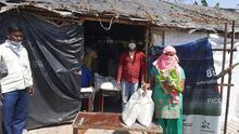 Community volunteers from Chllla Khadar. Image: Vikram Singh/ Basti Suraksha Manch