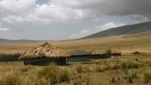 A boma in the Ngorongoro District