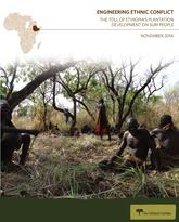 Engineering Ethnic Conflict report cover