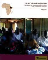 We Say the Land is Not Yours report cover