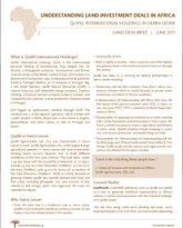 Quifel International Holdings in Sierra Leone