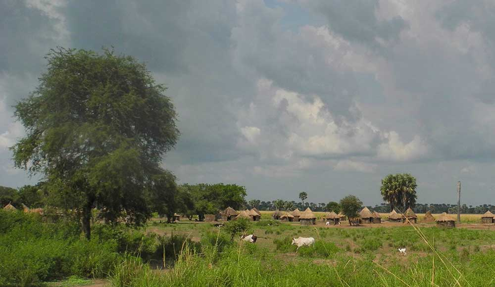 Village in Karuturi lease area, Gambella, Ethiopia. The EU and Germany's €3.8 million S2RAI project will help to perpetuate land grabbing and human rights abuses in the region.